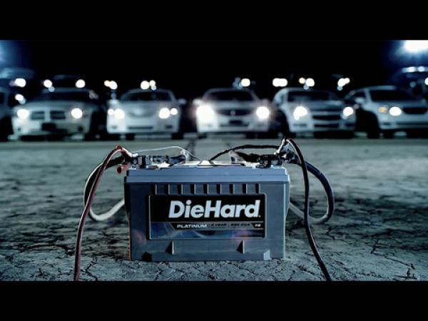 Une batterie voiture DIEHARD