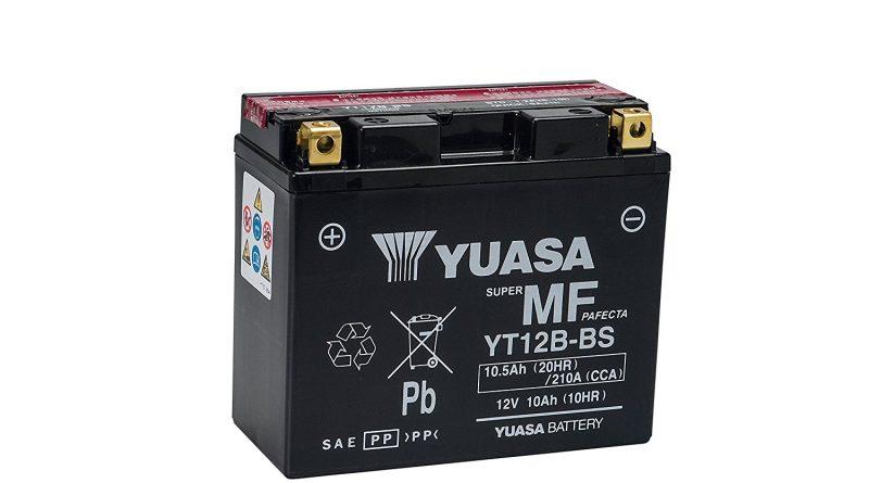 Une batterie YUASA sans entretien