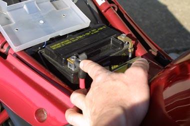 Des cosses de batteries propres sans dépôt