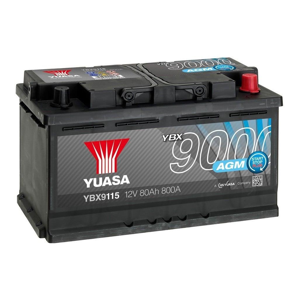 Une batterie AGM Yuasa